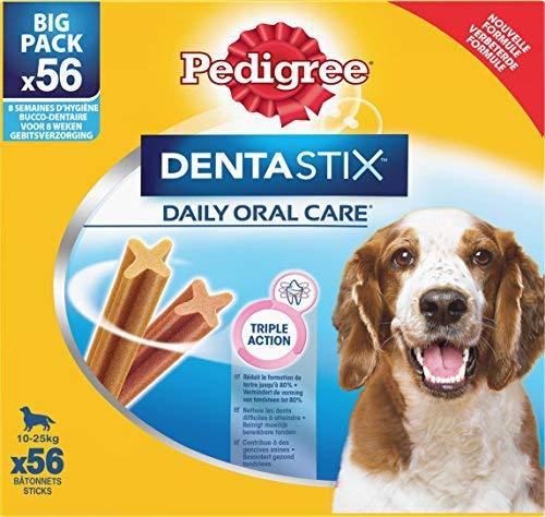 Pedigree Dentastix - Friandises pour Moyen Chien - 56 Sticks Hygiène Bucco -Dentaire product image