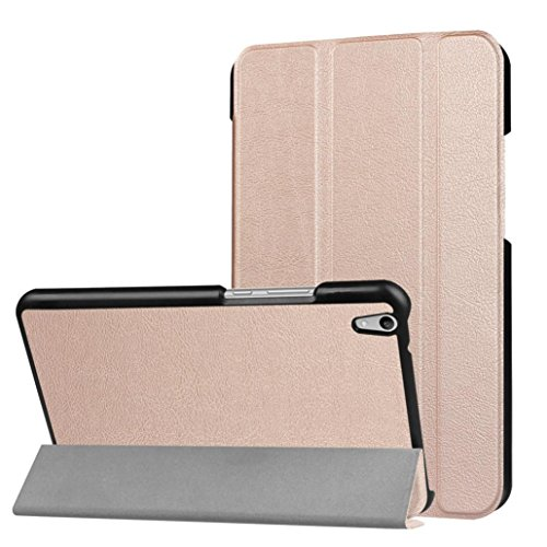 Sikye Ultra Slim Leather Stand Case For Huawei Honor Pad 2 JDN-W09/AL00 Tab 8 Inch (Rose Gold) (Huawei Honor T1 Tablet)