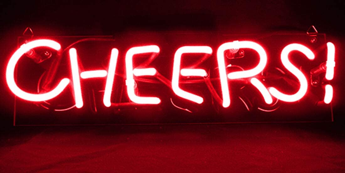 Neon Lamps for Bar Bedroom Handcraft Real Glass Wall Decor Hanging Gift 14x9 Hello Gorgeous Neon Sign Light