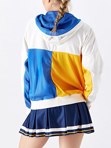ADIDAS BR3557-F17 Women`s New York Pharrell Williams Tennis Jacket Chalk White by adidas (Image #3)