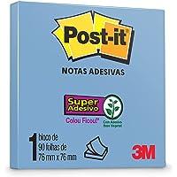 POST-IT® AZUL CRISTAL 76X76MM 90F