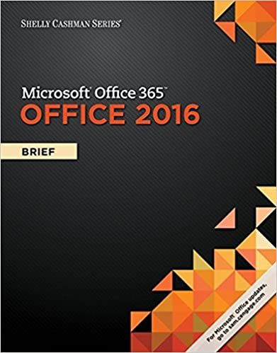 Book Shelly Cashman Series Microsoft Office 365 & Office 2016: Brief