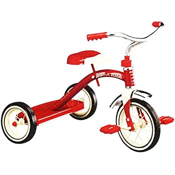 1cef560dee7 Amazon.com: Radio Flyer Classic Red 10 - Inch Tricycle: Toys & Games