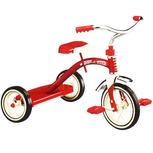 Radio Flyer Classic Red 10 - Inch Tricycle by Radio Flyer (Image #5)