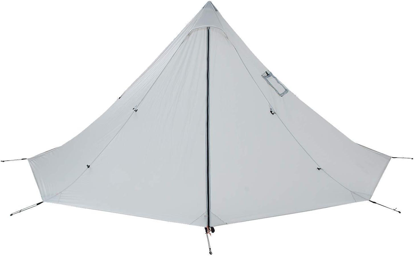 Hedendaags Amazon.com : OneTigris Smokey HUT Ultralight Hot Tent, Weighs 2.6 MO-47