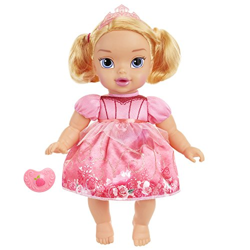 Disney Princess Deluxe Baby Aurora Doll with Pacifier Toy