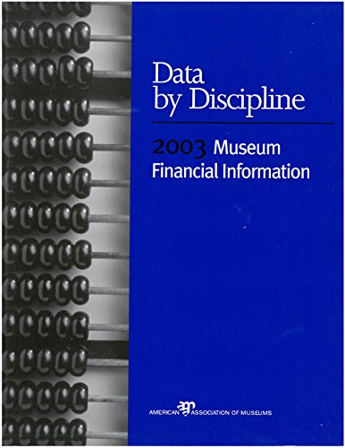 Data By Discipline: 2003 Museum Financial Information by