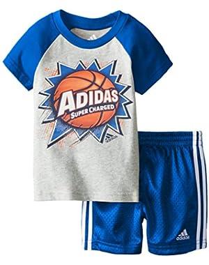 Baby Boys' Baller Short Set