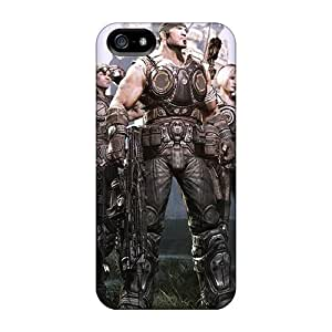 CharlesPoirier Iphone 5/5s High Quality Hard Phone Cover Customized Realistic Gears Of War 3 Pictures [cHj3231vOYM]