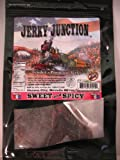Jerky Junction Sweet & Spicy Beef Jerky,3.25-ounce Bags (Pack of 4)