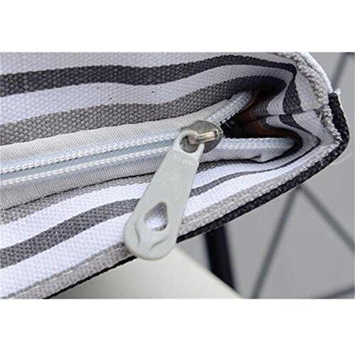 black and black Grey JOSEKO stripes and Grey donna medium JOSEKOukpursemall379 spalla stripes a white white Borsa xwn8q4T