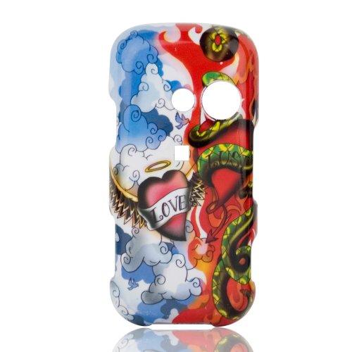 Talon Phone Shell for LG LX265 Rumor2 - Love vs. Lust - Lg Rumor2 Skin