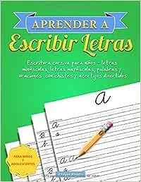 Aprender a escribir letras: Escritura cursiva para niños - letras ...