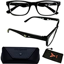 08c5cb86de05 Nearsighted Myopia Lens Plastic Frame Optical Eyeglass Glasses For Men    Women View Distance Driving Glasses (These Are Reading