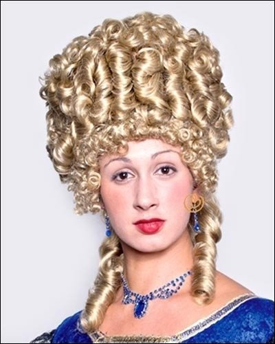 Marie Antoinette by Sepia Costume Wigs,Honey Blonde (Marie Antoinette Halloween Costume)