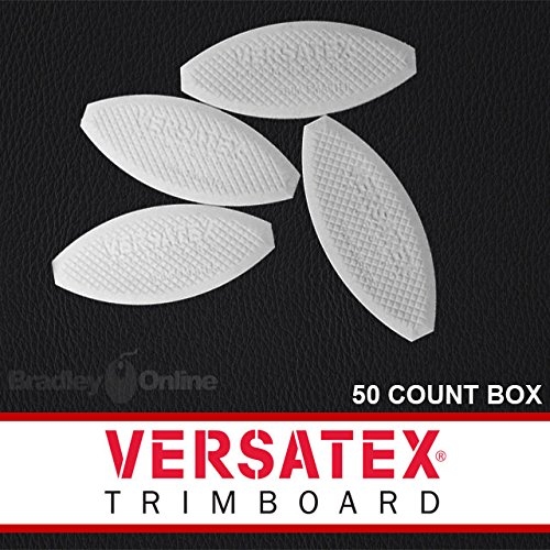 Versatex PVC Joint Biscuits - 50 Count by Versatex