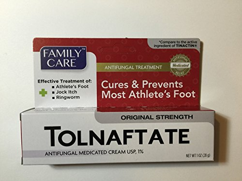[6 Pack] Tolnaftate Cream USP 1% Antifungal Compare to Tinactin