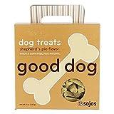 Cheap Sojos Good Dog Crunchy Natural Dog Treats, Shepherd's Pie, 8-Ounce Box