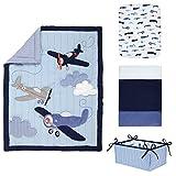 Carter's Take Flight Airplane/Cloud/Star 4 Piece