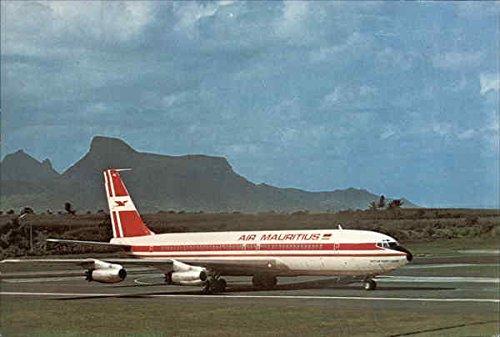 Boeing 707 Aircraft - Air Mauritius - Boeing 707 Aircraft Original Vintage Postcard