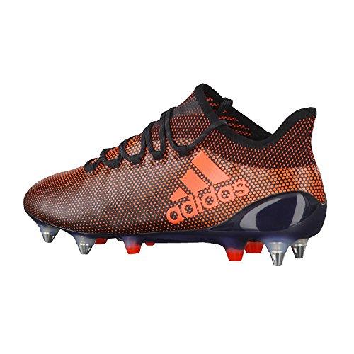 adidas X 17.1 SG, Scarpe da Calcio Uomo Nero (Negbas/Rojsol/Narsol)