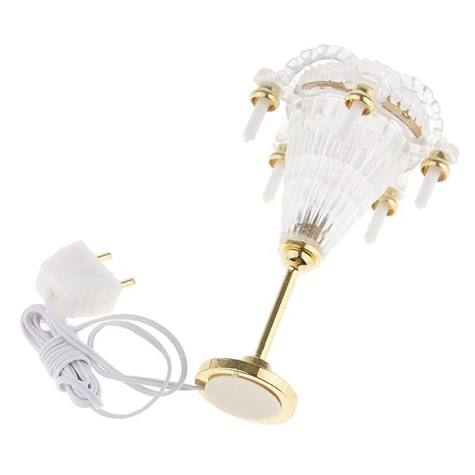 Amazon.com: bromrefulgenc Miniature Lightfor Dollhouse,12V 1 ...
