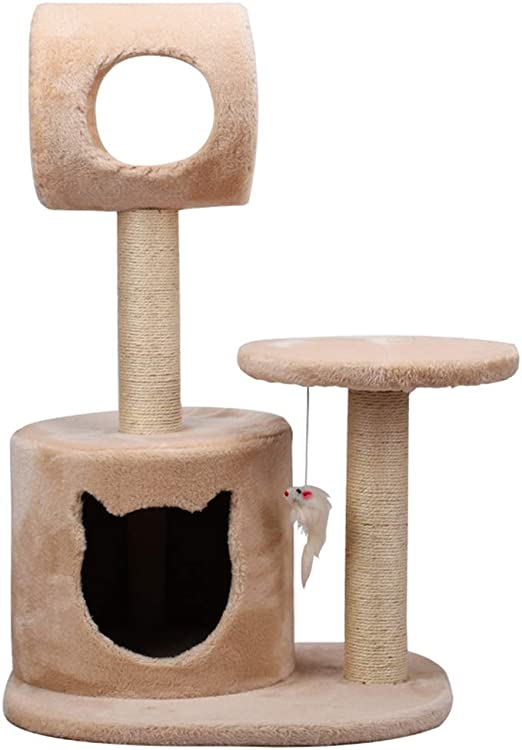 Gato Lujo Marco Escalada Árboles para Gatos Gato Árbol Simple ...