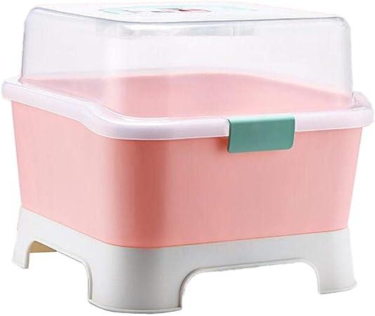 Dispensador portátil bebé Contenedor de almacenamiento alimentos Caja de leche en polvo, Caja para Guardar biberones y biberones: Amazon.es: Hogar