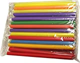 PowerforApple (Pack of 50)Tapioca Bubble Tea Straws 8 inches long and diameter is 1/8 inch  individually wrapped colorful Straws