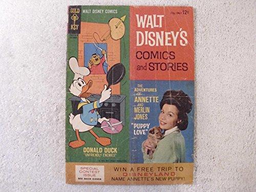 - Walt Disney's Comics And Stories Vol. 23 No. 1 Annette Cover Comic
