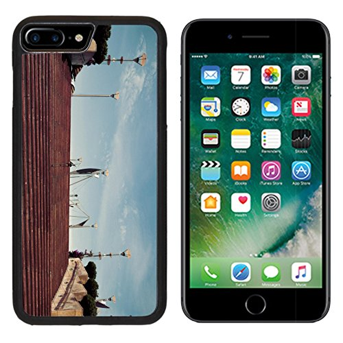 MSD Premium Apple iPhone 7 Plus Aluminum Backplate Bumper Snap Case IMAGE 24364741 stairway stone Barcelona Catalonia Spain Vintage retro style