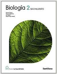 Proyecto La Casa del Saber, biología, 2 Bachillerato