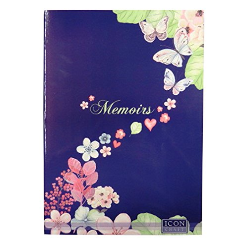 A3 Memoirs and Moments Large Scrapbook - 64 Pages - (Smooth Gloss Wide Format Paper)