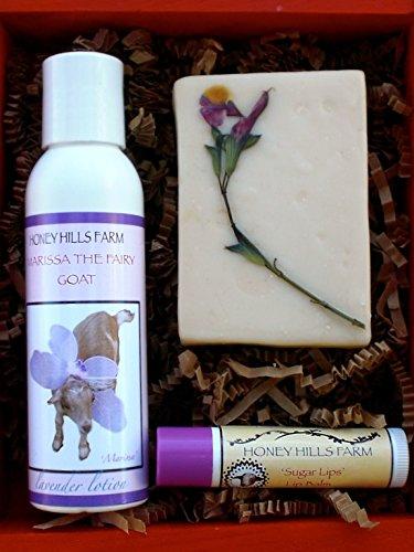 Miel Hills Farm : Printemps chèvre spécial lait peau soins boîte cadeau