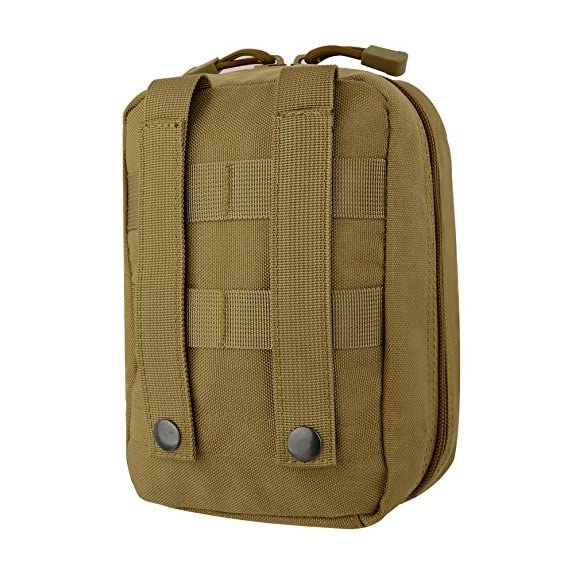 ArcEnCiel Tactical MOLLE EMT Medical First Aid IFAK Blowout Utility Pouch (Brown)