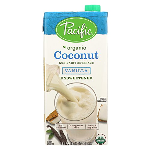 Pacific Natural Foods Coconut Vanilla - Unsweetened - Case of 12 - 32 Fl oz. by Pacific Natural Foods