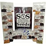 NON-GMO Bulk Seed Pack - 30 Varieties of Vegetables and Melons