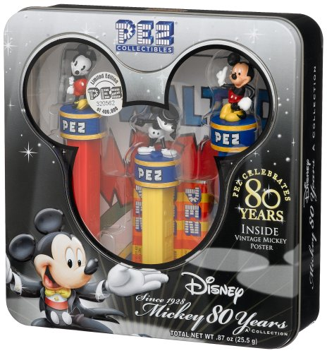 - PEZ Mickey 80th Year Limited Edition, Numbered Collectors Set, .87-Ounce Box