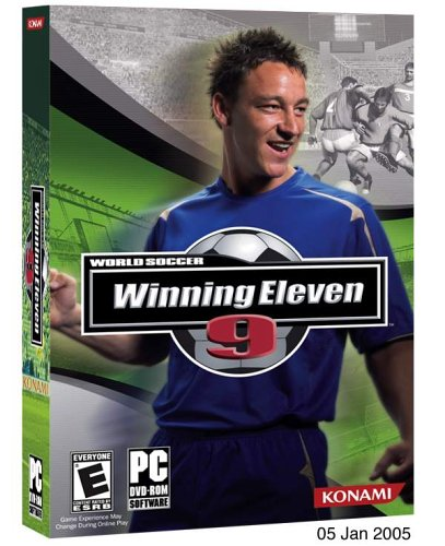 World Soccer Winning Eleven 9  Dvd Rom    Pc