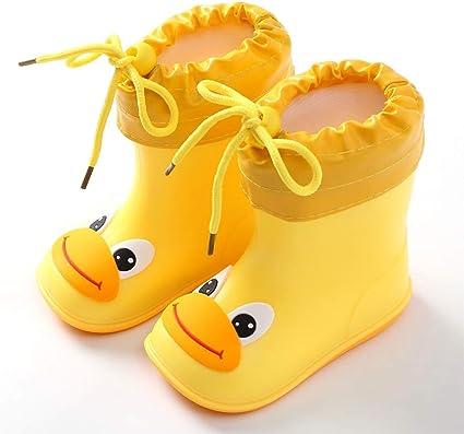 Guohailang Bambini Stivali da Pioggia Stivali da Pioggia per