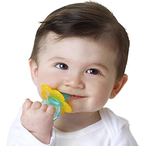 Nuby Chewbies Silicone Teether Colors