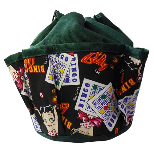 Bingo Betty 10-pocket Dauber Bag Dark Green