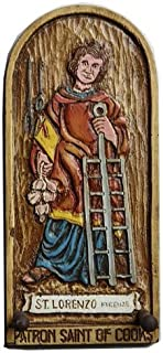 product image for Piazza Pisano Patron Saint of Cooking Wall Decor Plaque
