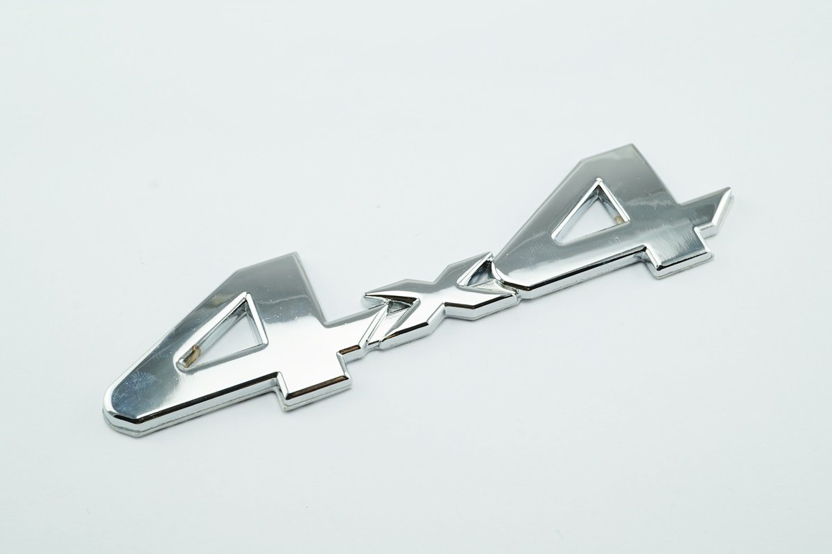 BLACK 4X4 EMBLEM//BADGE FOR TRUCK//SUV//PICKUP REAR TAILGATE TAIL GATE DOOR 4WD B