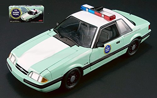 GMP 1:18 UNITED STATES BORDER PATROL - 1988 FORD MUSTANG for sale  Delivered anywhere in USA