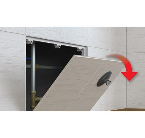 Aleta de Mantenimiento de la Puerta de Inspección Magnético Ser ...