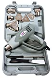 Earlex Heat Gun HG2000UKP incl. incl. nozzle attachments and carry caser- 350°C - 600°C, 2000 W, memory function
