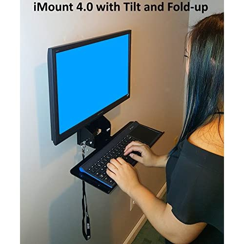 SDS iMount 4.0 Adjustable Monitor and Keyboard Mounting System with Arm
