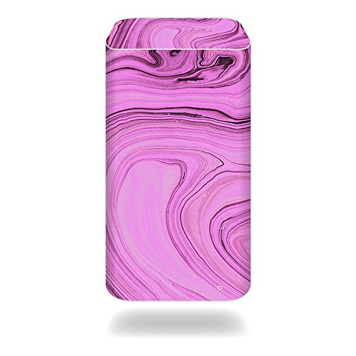 MightySkins Protective Vinyl Skin Decal for Apple Airport Extreme Base Station wrap Cover Sticker Skins Pink Thai Marble