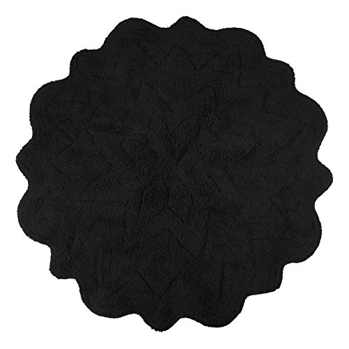 Sherry Kline Tufted Petals Black 32